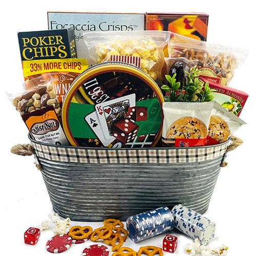 Design It Yourself Gift Baskets Royal Flush - Poker Gift Basket