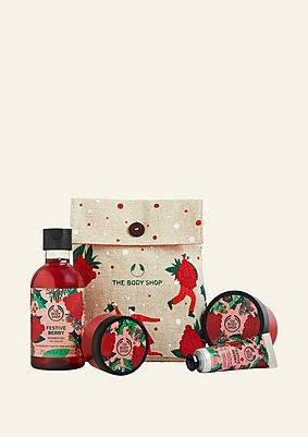 The Body Shop Festive Berry Little Gift Box