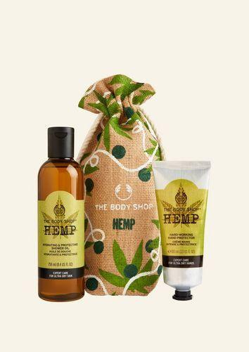 The Body Shop Hemp Power Duo Little Gift Sack