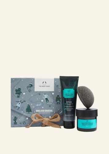 The Body Shop Himalayan Charcoal Skin Purifying Kit
