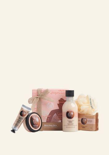 The Body Shop Nourishing Shea Pampering Essentials