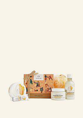 The Body Shop Soothing Almond Milk & Honey Big Gift Box