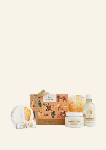 The Body Shop Soothing Almond Milk & Honey Big Gift Box
