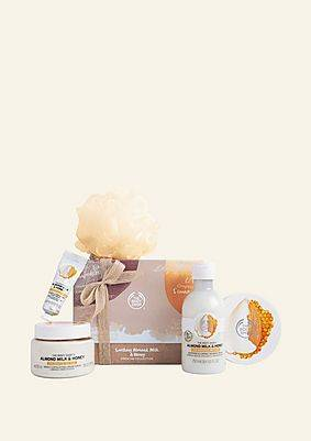 The Body Shop Soothing Almond Milk & Honey Premium Collection