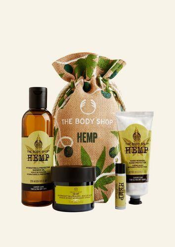 The Body Shop Ultimate Hemp Power Big Gift Sack