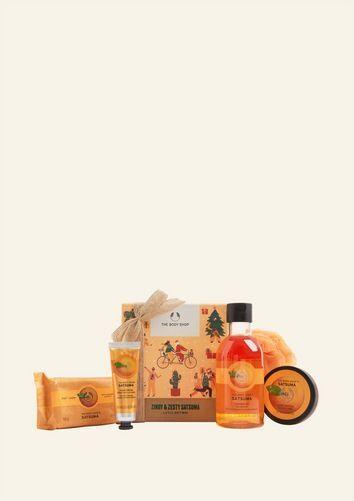 The Body Shop Zingy & Zesty Satsuma Little Gift Box