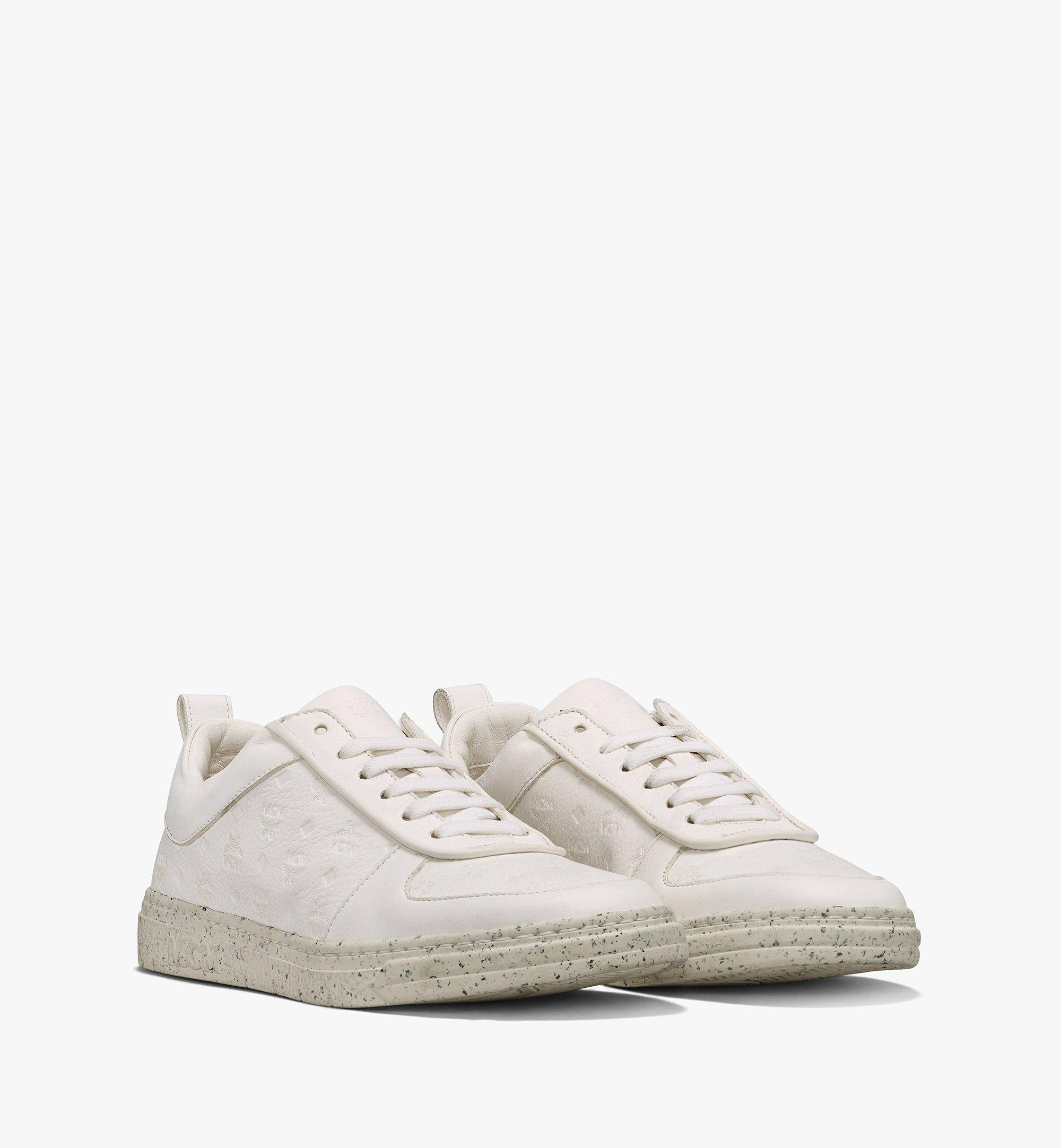 MCM Women's Sustainable Terrain Lo Sneakers  - WHITE - Size: 039