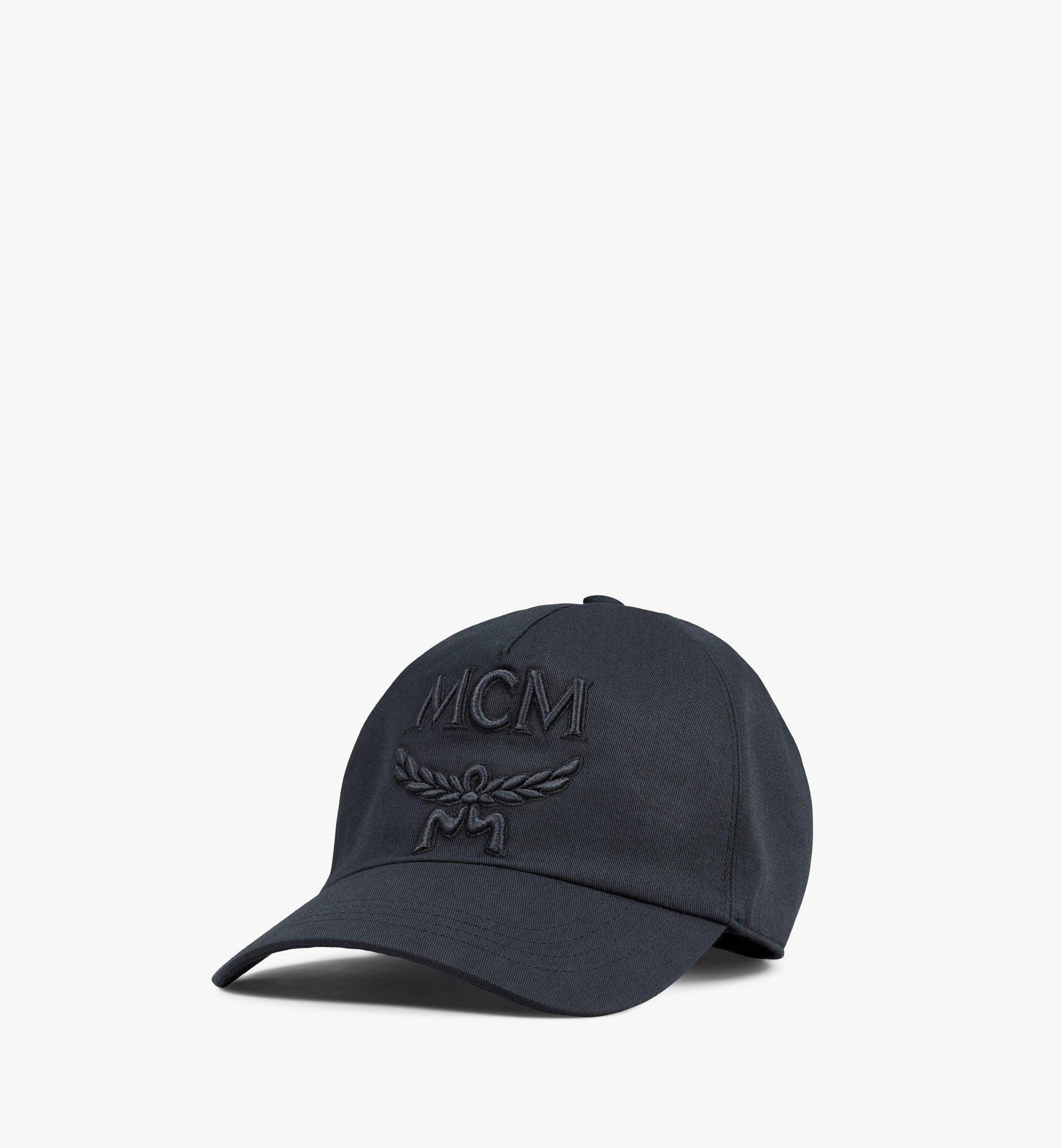 MCM Classic Logo Cap  - BLACK - Size: FFF