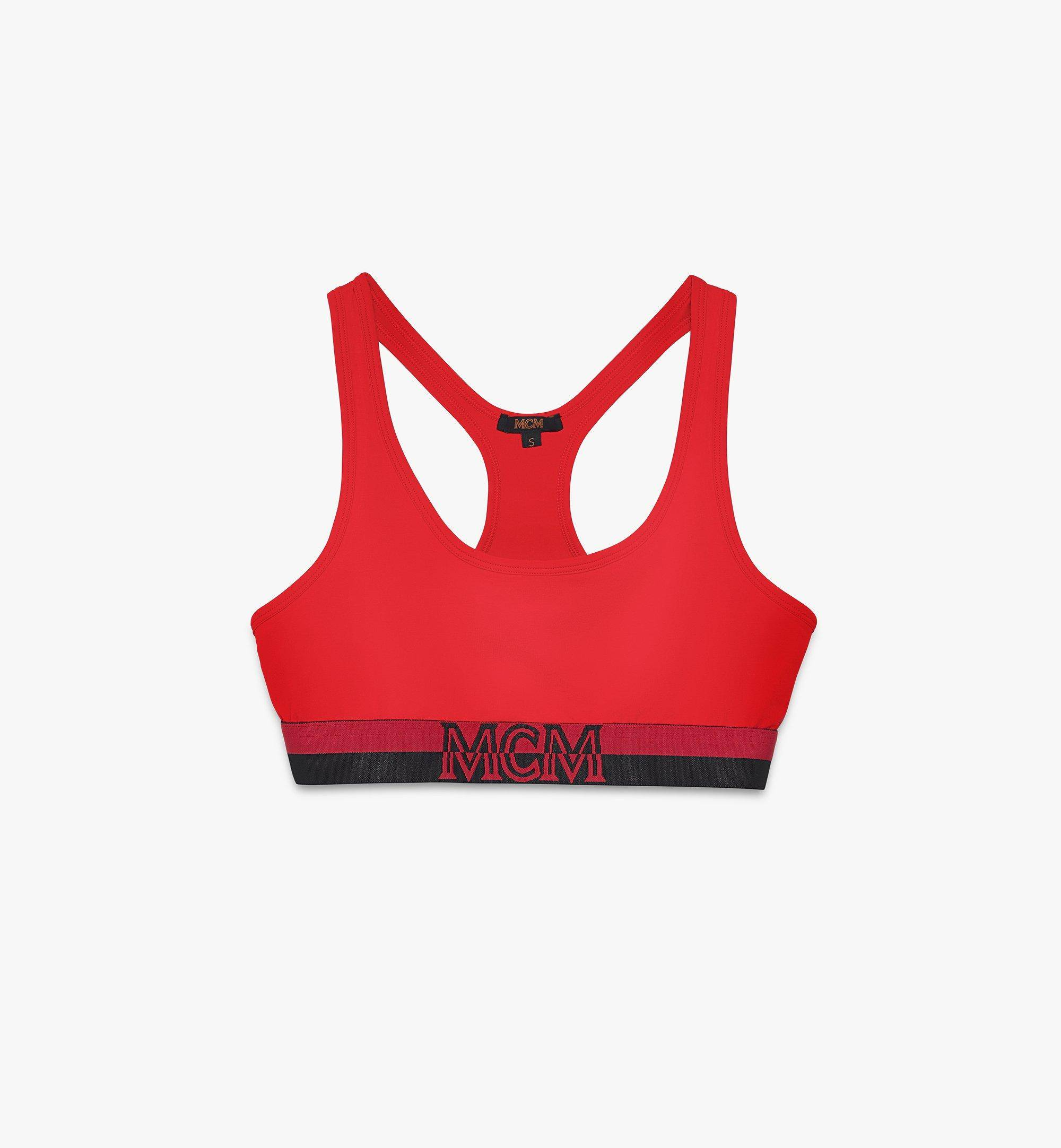 MCM Women's 1976 Sports Bra  - Red - Size: Small