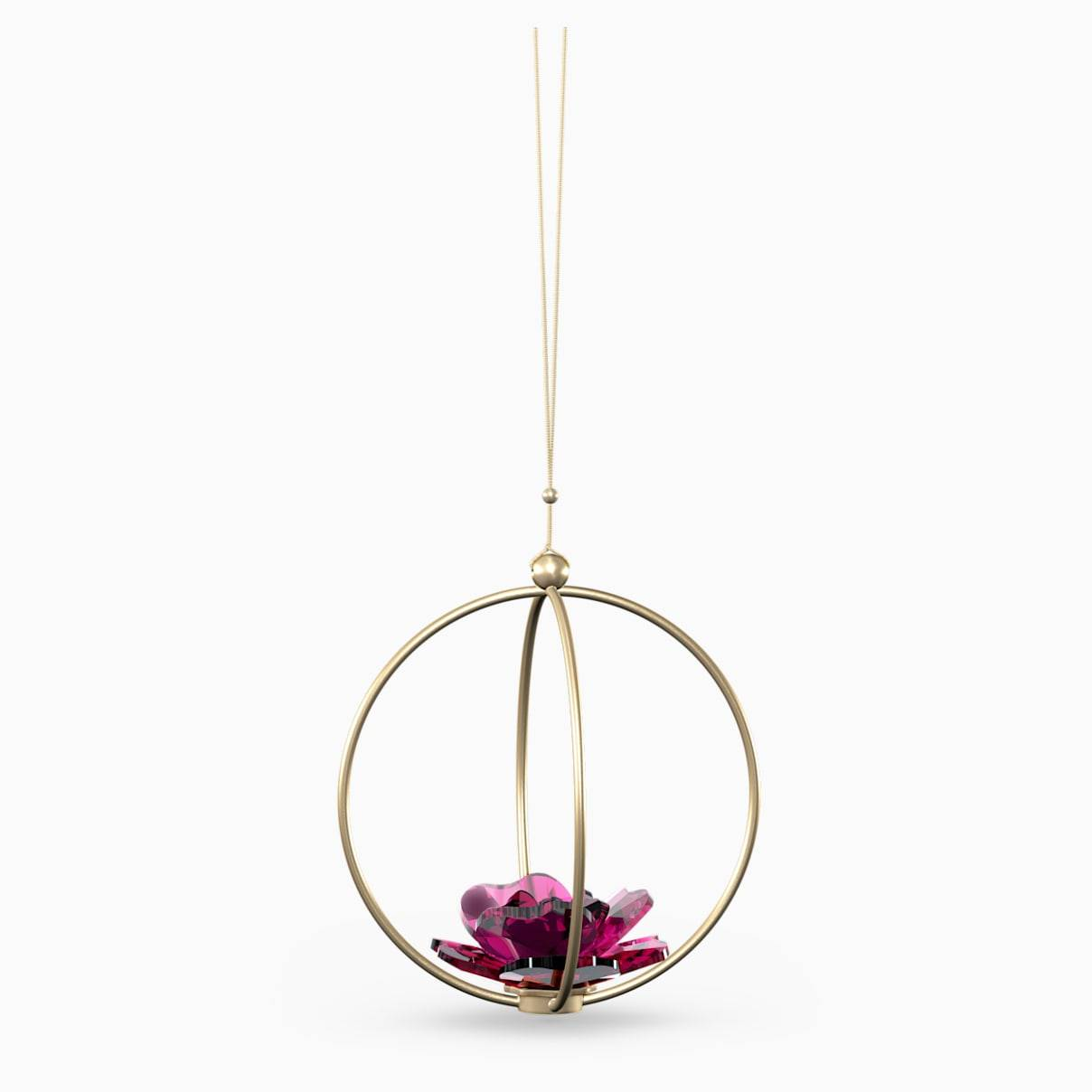 Swarovski Garden Tales Rose Ball Ornament, Large