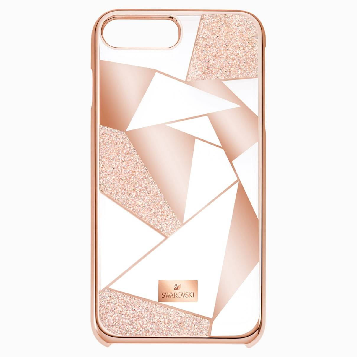 Swarovski Heroism Smartphone Case with Bumper, iPhone® 8, Pink