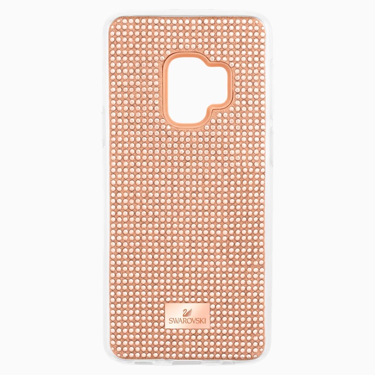 Swarovski Hero Smartphone Case with Bumper, Galaxy S®9, Pink