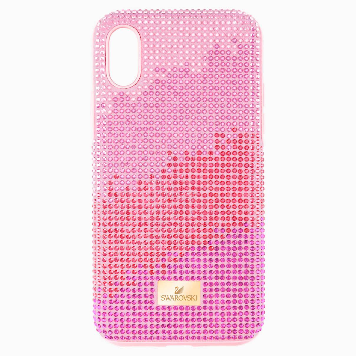 Swarovski High Love Smartphone case with Bumper, iPhone® XS Max, Pink