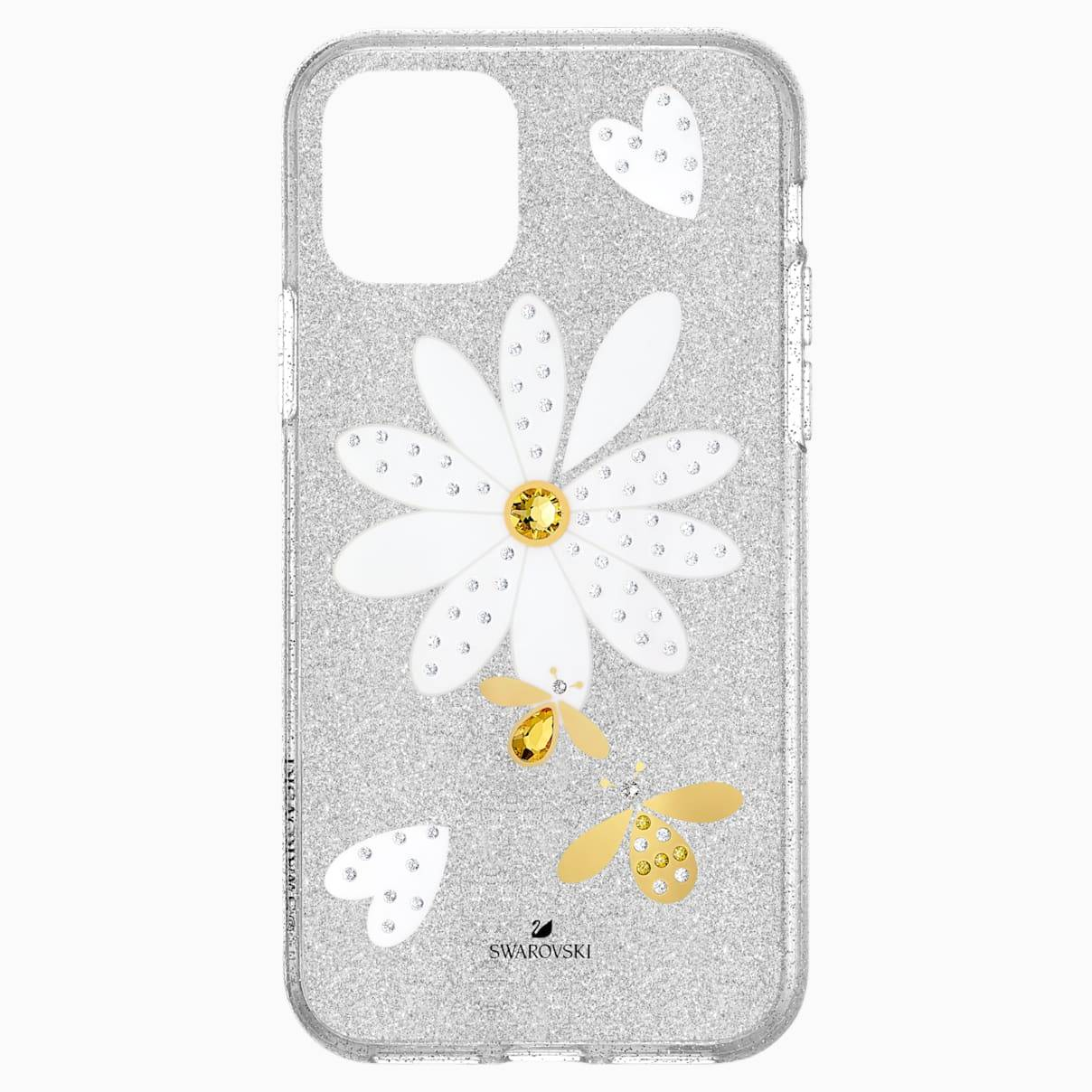Swarovski Eternal Flower Smartphone Case with Bumper, iPhone® 11 Pro, Light multi-colored