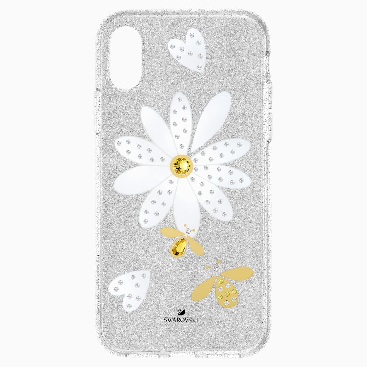 Swarovski Eternal Flower Smartphone Case with Bumper, iPhone® XS Max, Light multi-colored