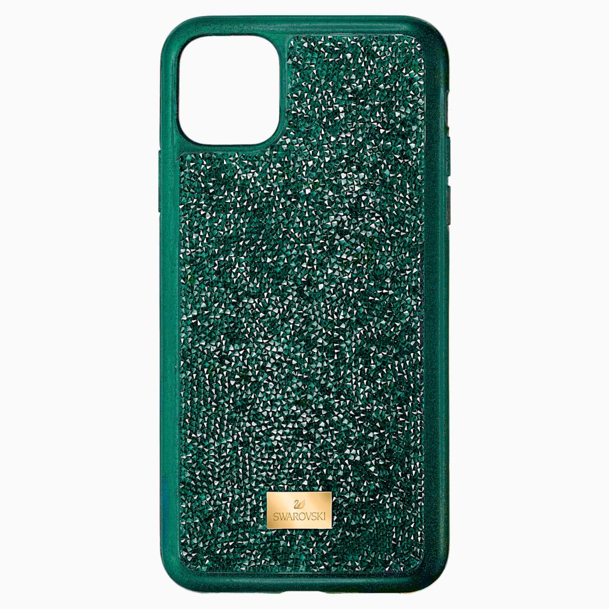 Swarovski Glam Rock Smartphone case with bumper, iPhone® 11 Pro Max, Green