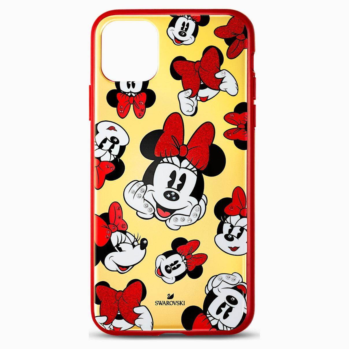 Swarovski Minnie Smartphone Case with Bumper, iPhone® 11 Pro Max, Multicolored