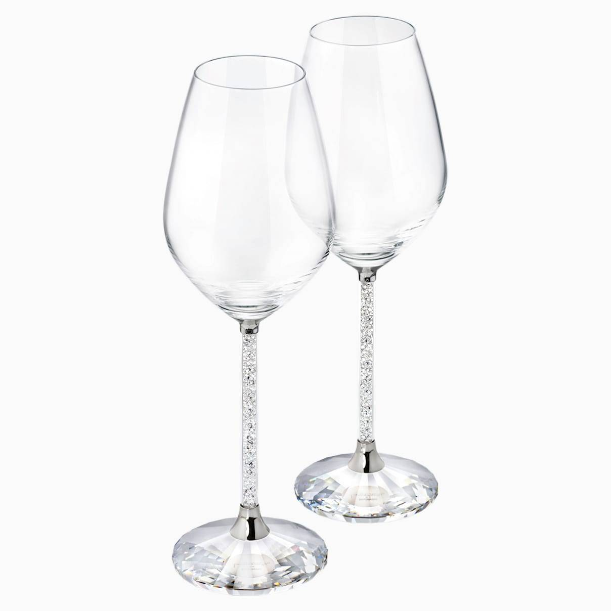 Swarovski Crystalline Wine Glasses (Set of 2)