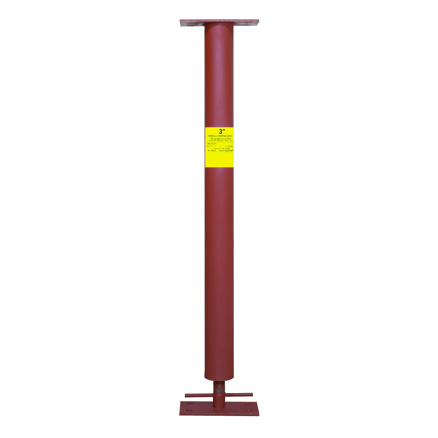 Marshall Stamping Extend-O-Columns 3 in. Dia. x 103 in. H Adjustable Building Support Column 1420