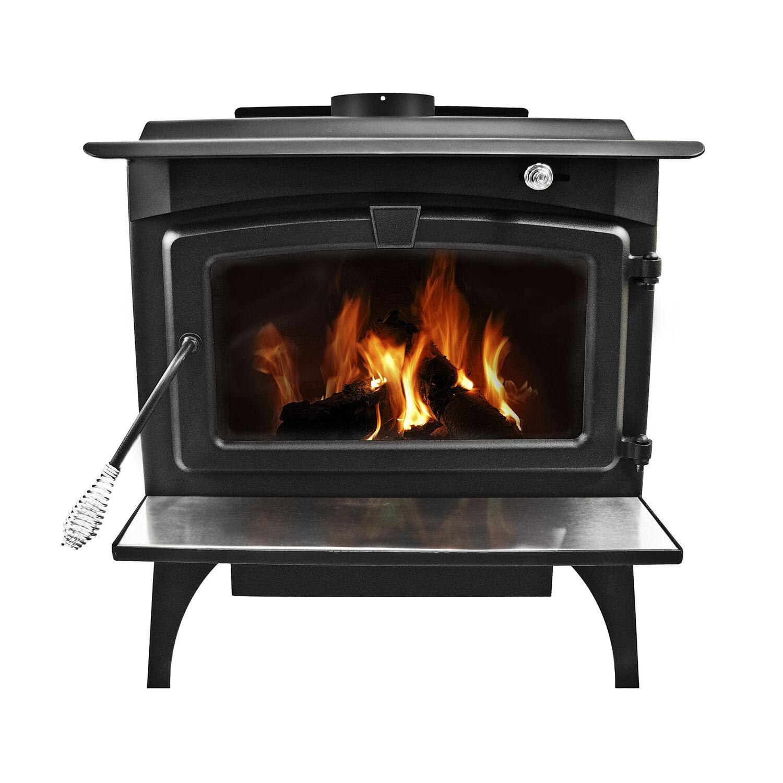 Pleasant Hearth 2200 sq. ft. Wood Burning Stove 295 lb. capacity