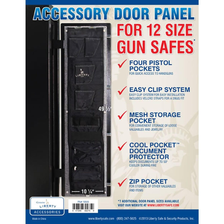 Liberty Safe Black Accessory Door Panel