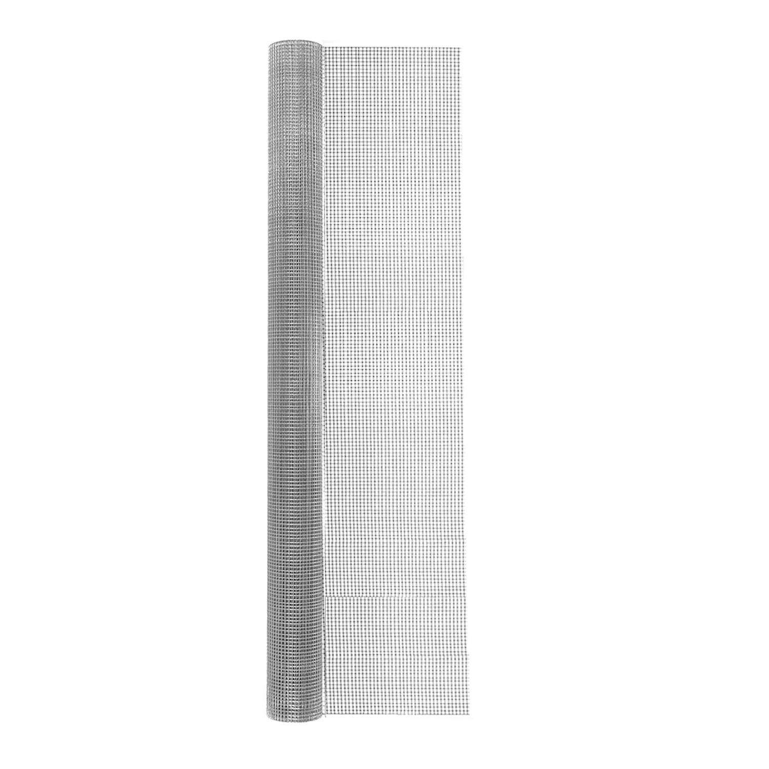 Garden Craft 48 in. W x 25 ft. L Silver 23 Ga. Hardware Cloth Steel
