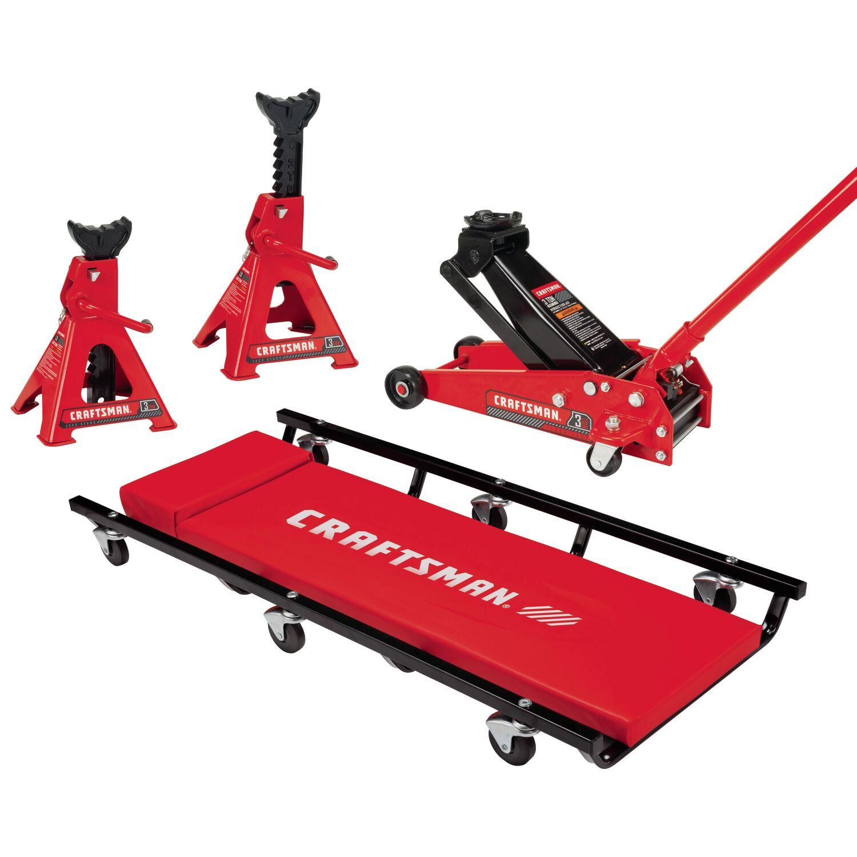 Craftsman Manual 3 ton Automotive Floor Jack Set