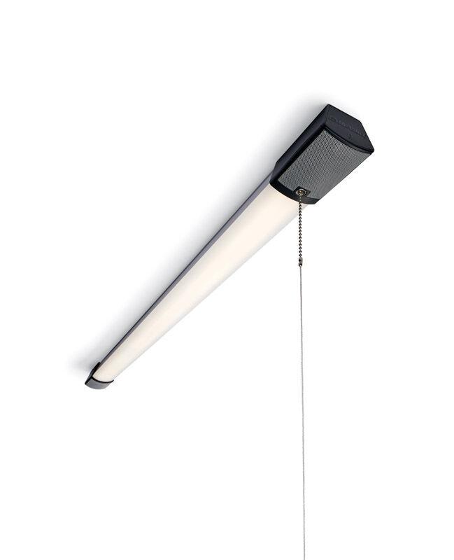 Metalux 43 in. 31 watt LED Shop Light w/ Bluetooth Speakers