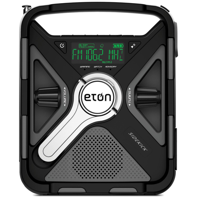 Eton Black LED Crank Radio/Flashlight