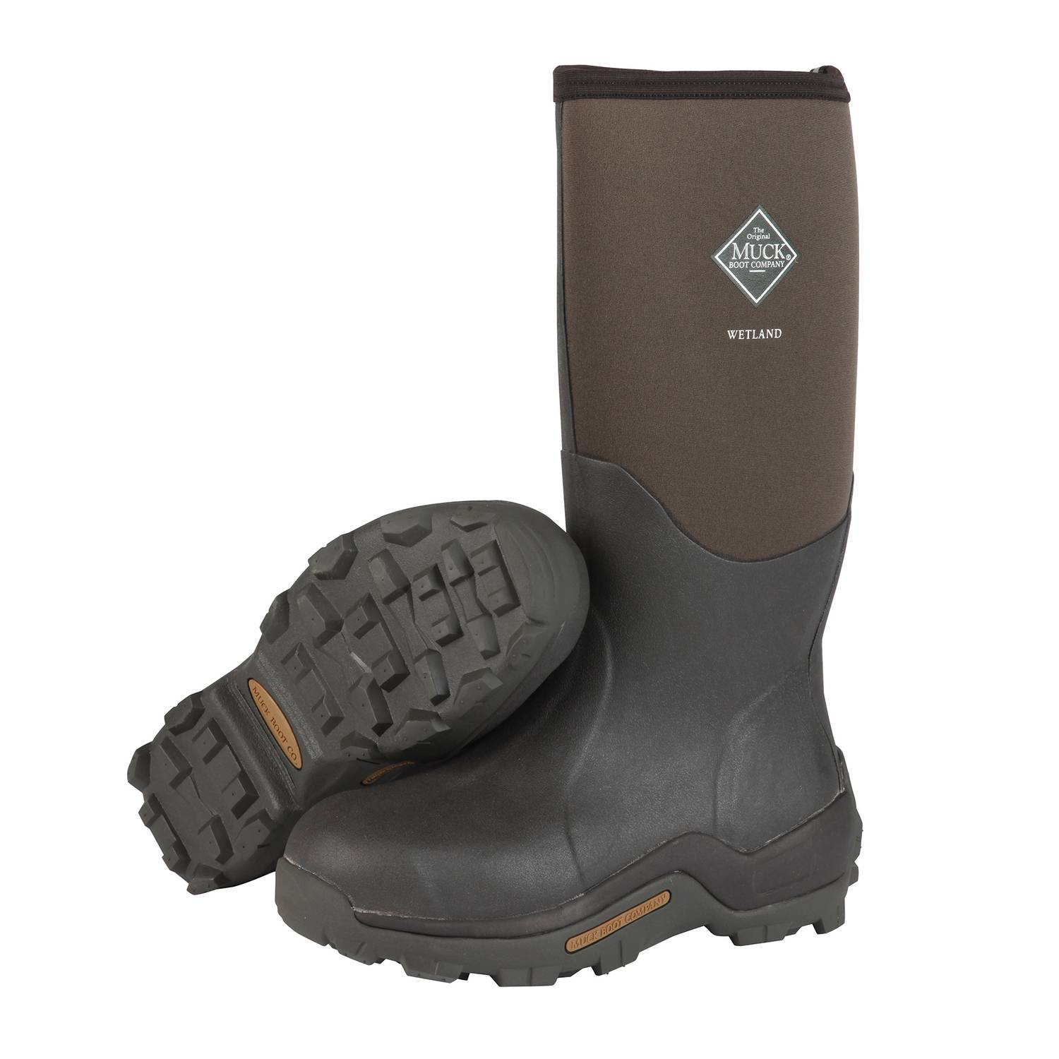 The Original Muck Boot Company Wetland Men's Boots 12 US Brown