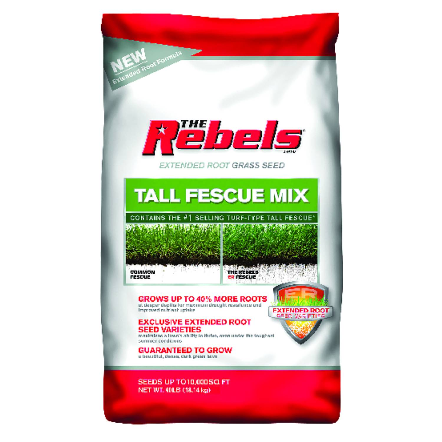 Pennington Seed The Rebels Tall Fescue Sun/Shade Grass Seed 40 lb.