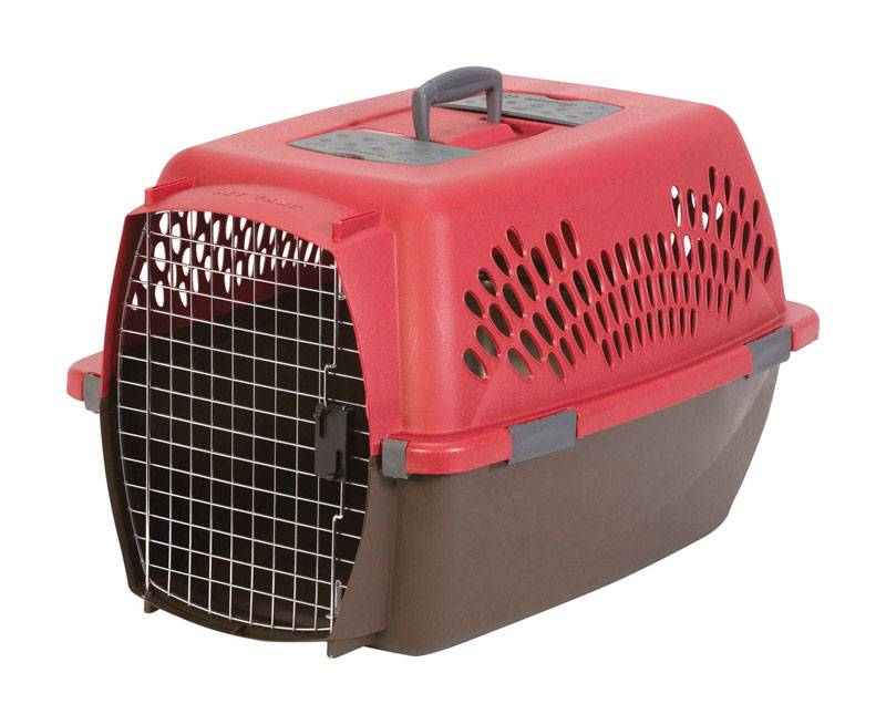 Aspen Pet Plastic Pet Porter Multicolored 18.6 in. H x 16.5 in. W x 26.2 in. D