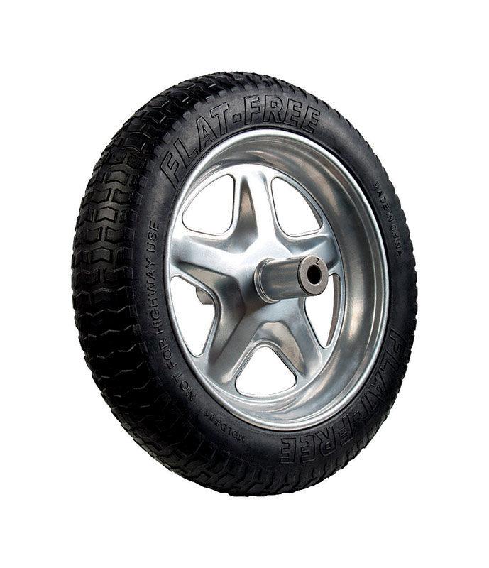 Jackson Spoked 15-1/2 in. Dia. Wheelbarrow Tire Rubber