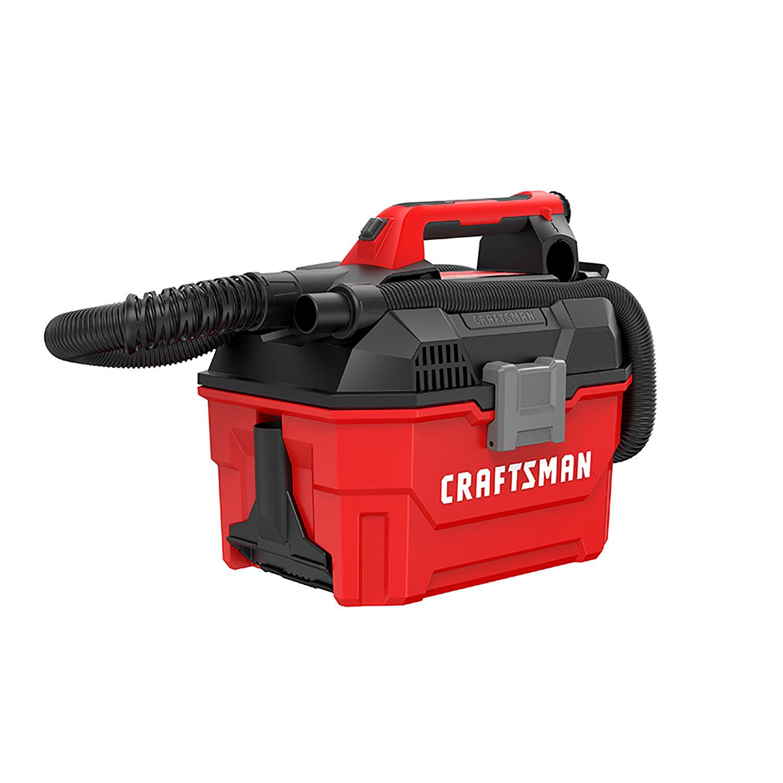 Craftsman V20 2 gal. Cordless Portable Wet/Dry Vacuum 20 volt Red 7.22 lb.