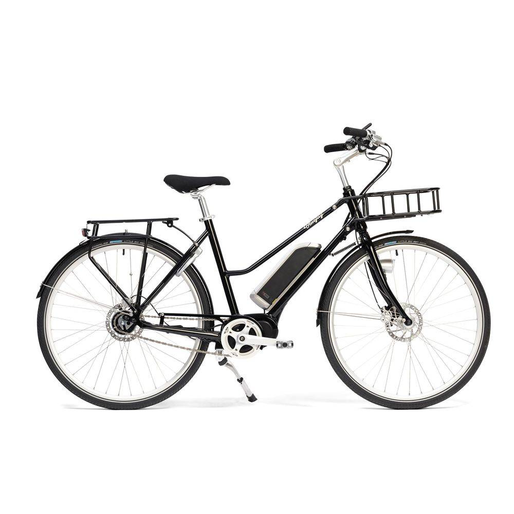 Bluejay Bicycles Premiere Edition Electric Bike in Jet Black, Small/Medium