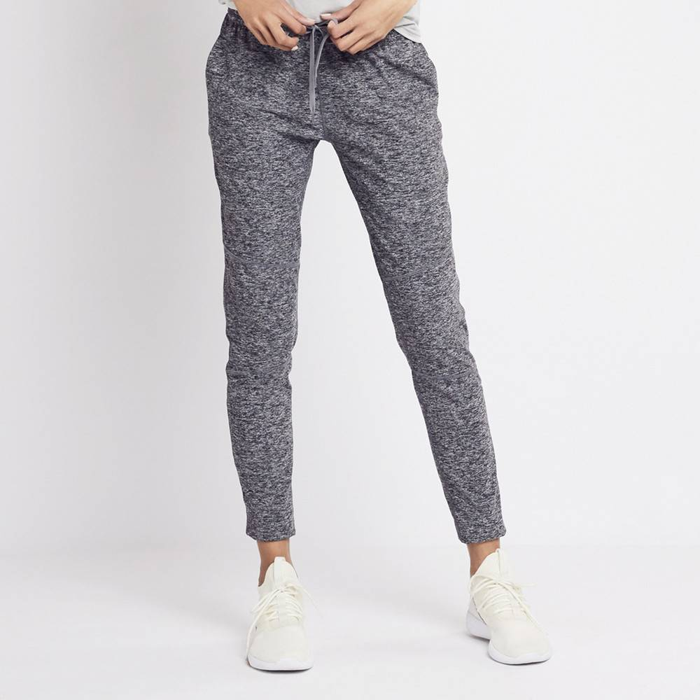 Outdoor Voices Running Woman Sweats in Heather Grey, Large