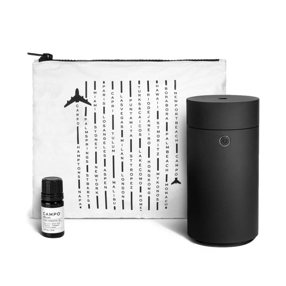 Campo Relax Travel Diffuser Kit for Aromatherapy