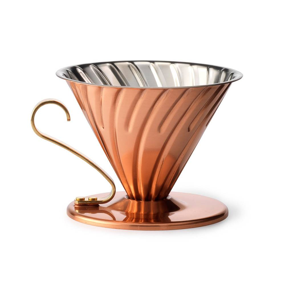 Hario Copper Pour Over with Brass Handle