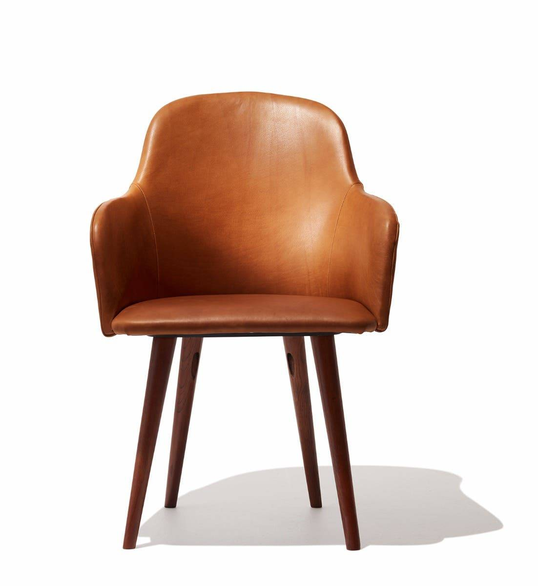 Industry West Alva Dining Chair Leather