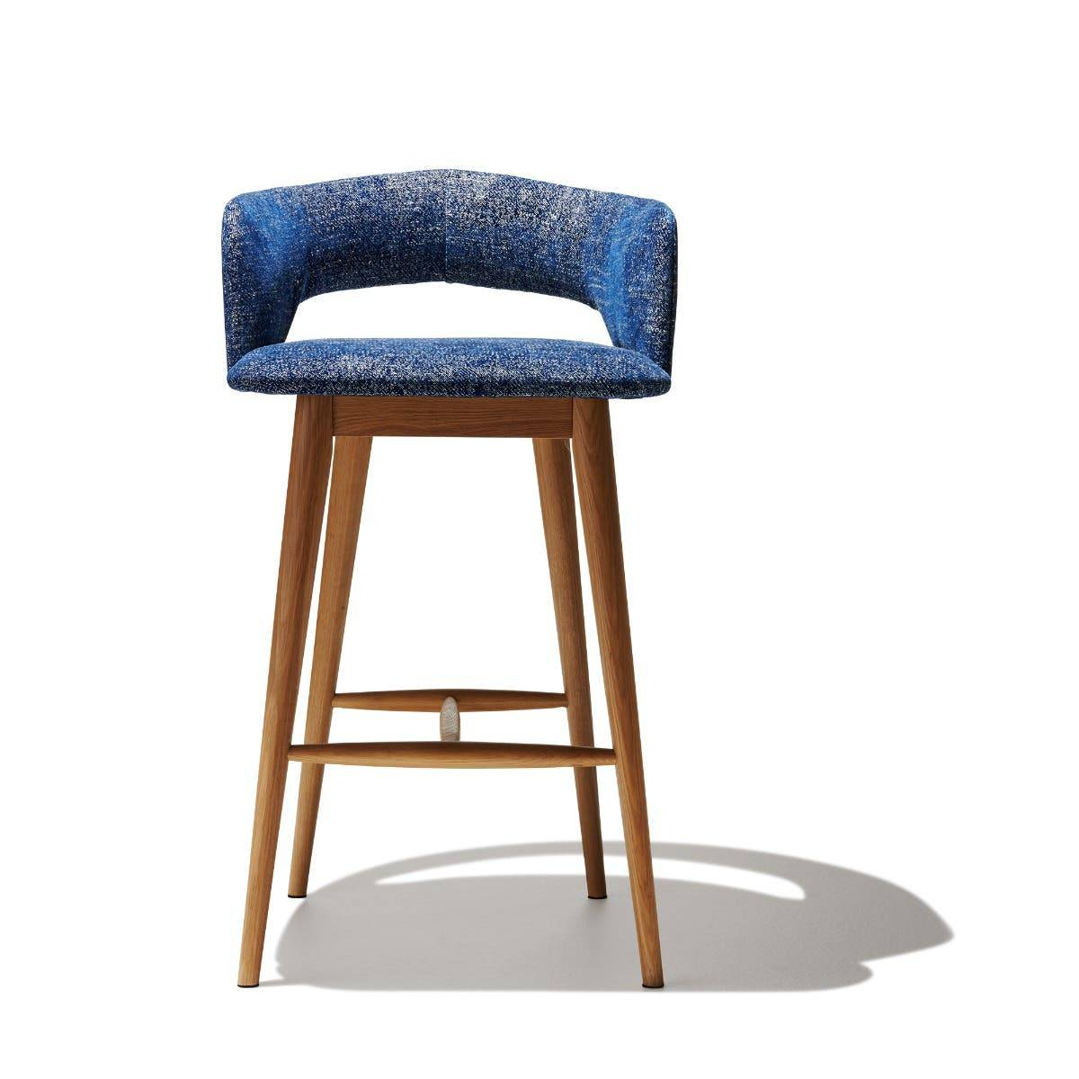 Industry West Savoy Bar Stool Patrol Bronze Leather
