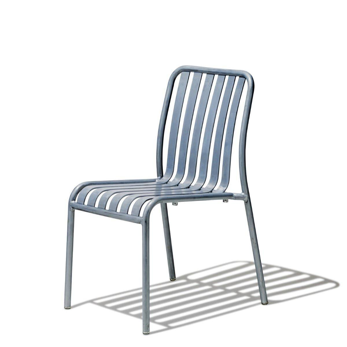 Industry West Lucy Side Chair Aluminum