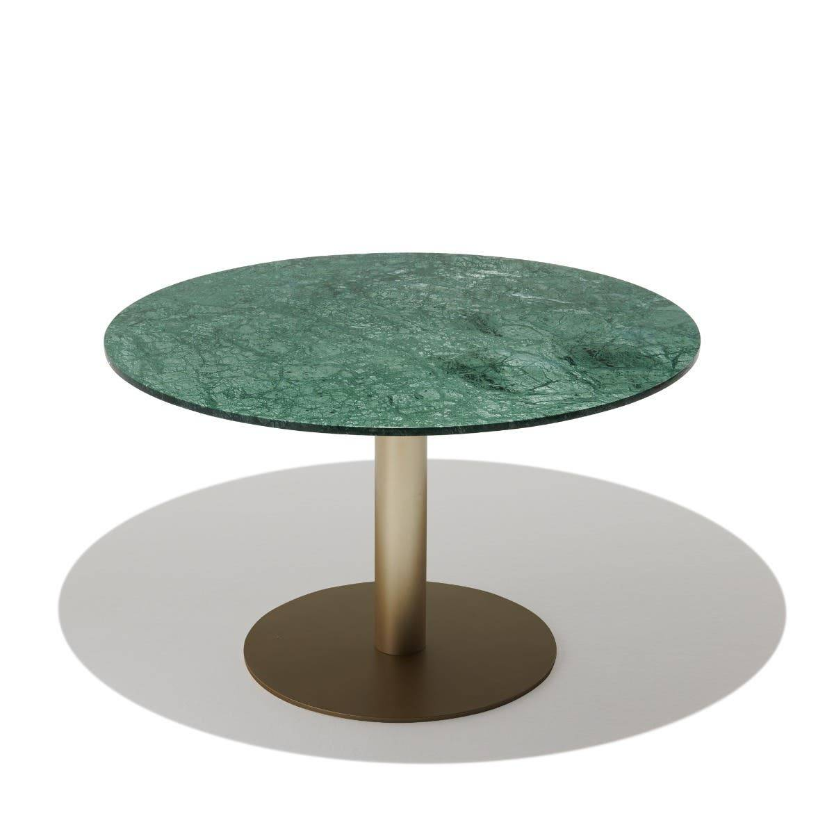 Industry West Adelaide Dining Table Green Marble