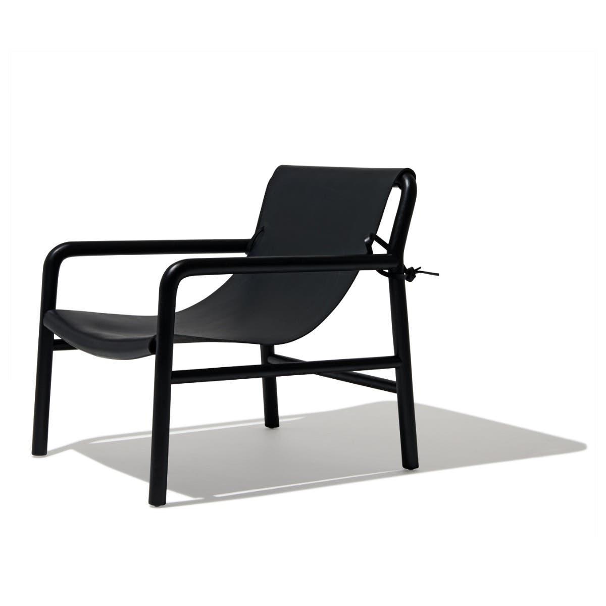 Industry West Los Feliz Lounge Chair Camel Leather