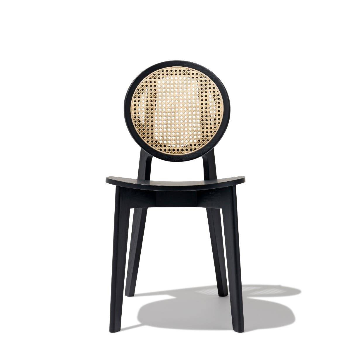 Industry West Cane 02 Dining Chair