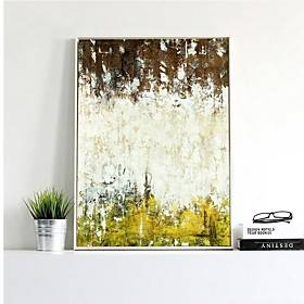 Landscape Oil Painting Wall Art,Alloy Material With Frame For Home Decoration Frame Art Kitchen Dining Room