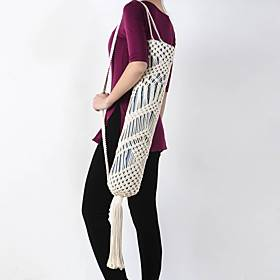 Fashion Outdoor Exercise Accessories Hand-knitted Yoga Mat Bag Storage Bag