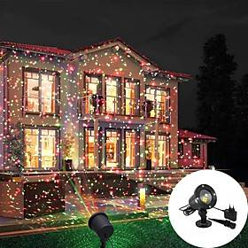 Christmas Projector Lights Outdoor Party Laser Light Projection IP55 Waterproof  Decorative Lights LED Stage Light for Outdoor  Garden Lawn Xmas Holiday Party