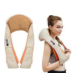 U Shape Heat Deep Kneading Infrared Massager Electrical Shiatsu Back Neck Shoulder Body Massager Infrared Massager Car/Home