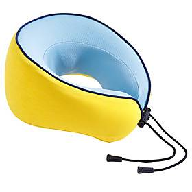 1PC Kneading Massage Memory Foam U-shaped Pillow Car Health Neck Pillow travel Tairplane Pillow
