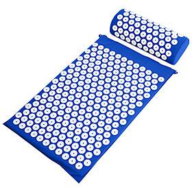 1set Yoga Mat Acupuncture Massage Mat Acupuncture Massage Mat Acupuncture Mat Relax Muscle Exercise Mat Acupuncture pillow